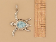 Larimar Sterling Turtle
