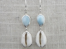 Larimar and Cowrie
