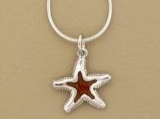 Koa Wood Starfish