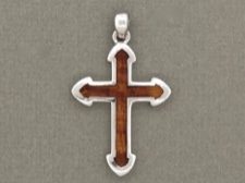 Koa Wood Cross