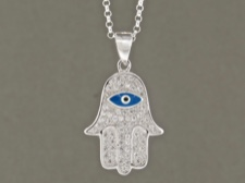 Hamsa with Eye Bead