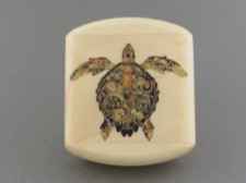 Secret Box - Intricate Turtle - Aspen Wood