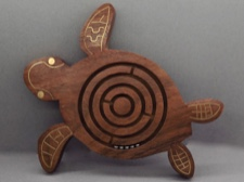 Sea Turtle Labyrinth Fair Trade from India