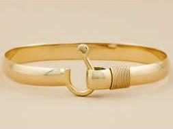 St John Hook 7mm Gold