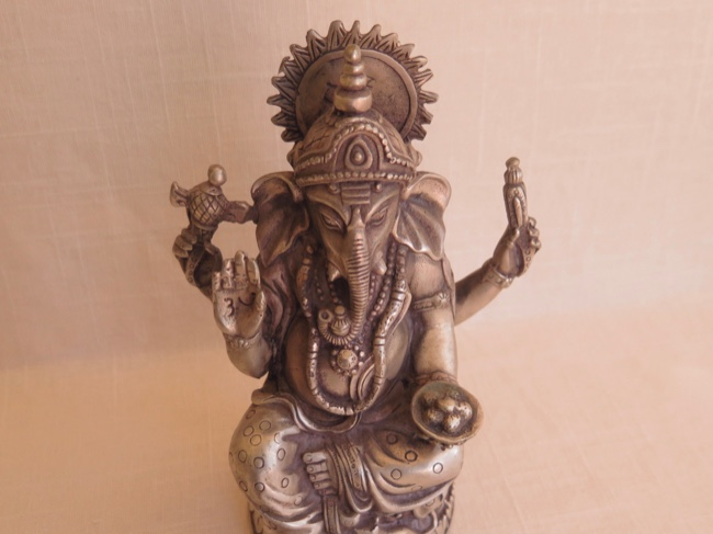Ganesha Remover of Obstacles Elegantly Crafted - Click Image to Close