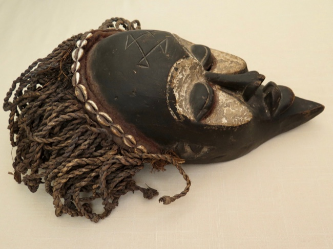 Chokwe Mwana Pwo Mask D.R. of Congo - Click Image to Close
