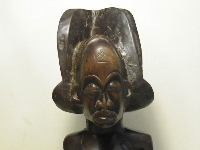 Chokwe Male Power Altar Piece, Angola - Click Image to Close