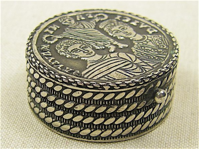 Byzantine Sterling Box - Handcrafted in Turkey - Click Image to Close