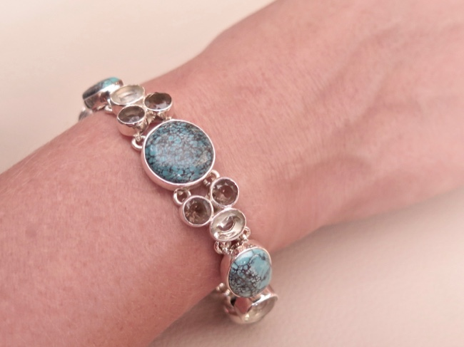 Turquoise Bracelet - Click Image to Close