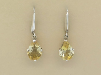 Citrine Faceted Tears