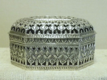 Traditionally Crafted Sterling Silver Box