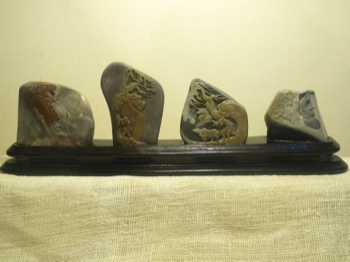 Longevity Mountain Stonecarvings 4 Occupations