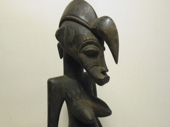 Senufo Ancestor Wooden Carving from Ivory Coast