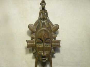 Kpelie Mask - African Senufo Beautiful Lady