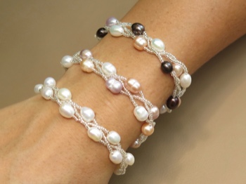 Pearls with Beads Braid